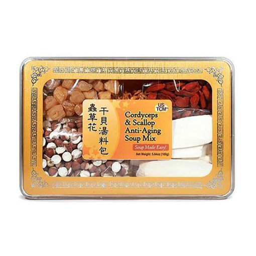 Cordyceps & Scallop Anti-Aging Soup Mix 虫草花干贝汤料包